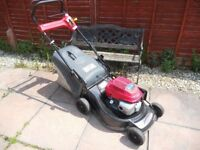 2005 castelgarden xa55mh3 honda powered petrol lawn mower 3 speed self propelled good condition