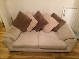 2 beige sofas - great price. Available individually or together