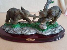 Baby Elephants (Tug O War)