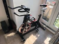 Like New! RevXtreme Indoor Cycle Spine Bike - Black & Red | S100