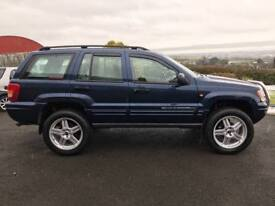 "2004 Jeep Grand Cherokee Sport 2.7crd / High lift Kit / 22"" Alloys / trade in accepted"