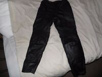 MOTORCYCLE PANTS FOR WOMEN DYNAMIC LEATHER COWHIDE