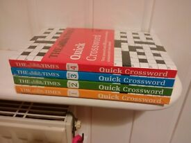 The Times Quick Crossword Collection Set x 4 Paperback Books