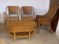 Rattan Garden Furniture Set Weave Wicker Chair Table Patio Conservatory