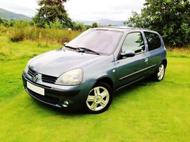 Quality low mileage Clio meticulously kept