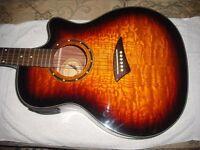 Dean EQA TBZ acoustic guitar