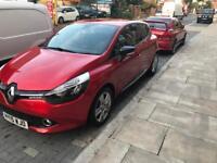 Renault Clio dynamique medianav with balance of manufacturer warranty until