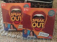 Speak Out Official game brand new in stock - Hasbro