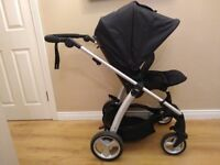 Mamas and Papas Sola 2 buggy, travel system compatible pram