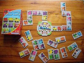 Red Lorry Yellow Lorry Board Game 4+years / 2-4 players . NR7 Thorpe Area