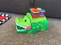 Fisher price crocodile