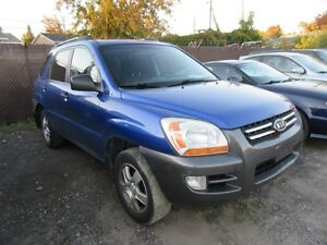 2007 KIA Sportage LX Manual transmission