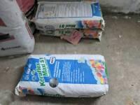 3 bags - MAPEI Keraflex Maxi S1 flexible white adhesive. 20kgs each bag