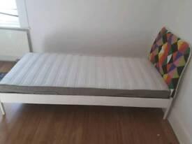 Single bed snd mattress