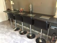 Large breakfast bar and legs