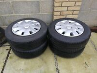 Seat Leon Wheels and tires 195/65 R15+ Wheel Trims