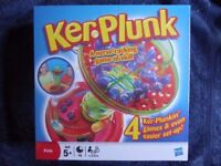 KIDS GAME KER PLUNK BRAND NEW IN BOX.