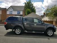 2011 New shape Mitsubishi L200 Barbarian Automatic. Top spec. Lovely truck. NO VAT