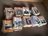 Private Eye - Social History for the past 35 years - my collection needs a good home!