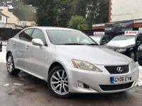 Lexus IS 220d 2.2 TD Full Service History 1 Year MOT Cream Leather Seats + Warranty