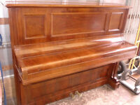 BECSTEIN UPRIGHT PIANO MINT ROSE WOOD OVER STRUNG £1350 CAN DELIVER