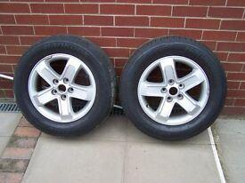 kia sportage alloy wheels with tyres