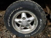 land rover free style wheels, bfgoodrich a/t