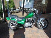 KAWASAKI EN 500 A1 - NI Vets Tribute Bike, lightly modified. Ready to go!