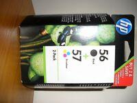 HP twin pack 56 + 57 Inkjet Cartridges