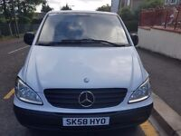MERCEDEZ VITO VAN 5995 1 year MOT New break pads&discs immaculate condition with new tyres&Alloys
