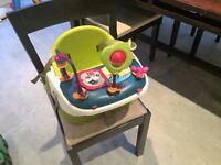 Mamas and Papas Booster Chair with play table