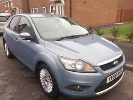 2008 FORD FOCUS TITANIUM TDCI 1.8 DIESEL 5 DOOR HATCHBACK ONE OWNER FORM NEW SERVICE HISTORY***