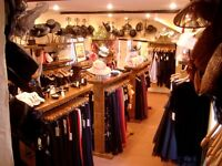 Complete Wedding Dress & Evening Wear Shop inc. Fixtures, Hats, Shoes, Dresses, Designer Clothes