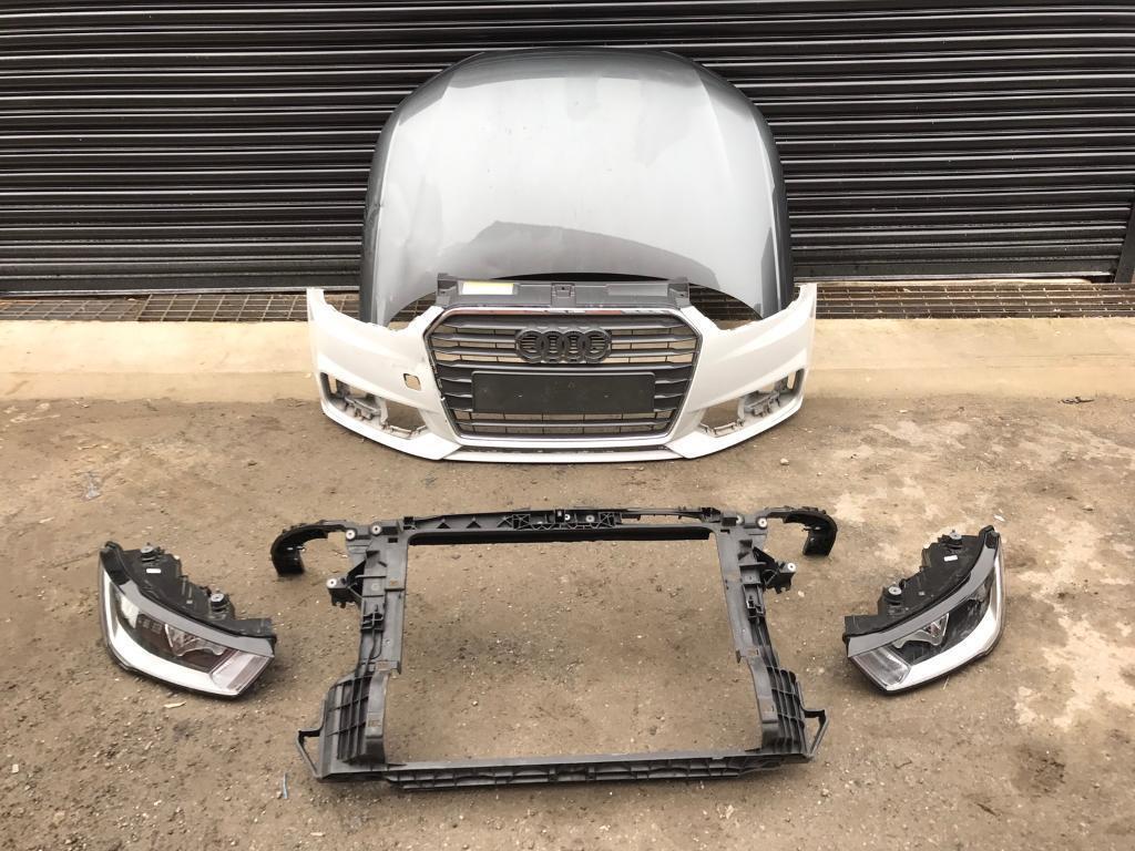 Audi A1 Facelift 2015 2016 2017 Genuine Front Bumper Bonnet Headlights Slam Panel In Bradford West Yorkshire Gumtree