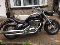 2013 SUZUKI GZ800 INTRUDER MINT BIKE 824 MILES MUST BE SEEN FINANCE AVAILABLE £4799