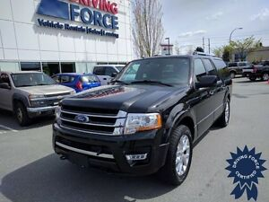 2015 Ford Expedition Max Limited 4x4 - 43,806 KMs, 8 Passenger
