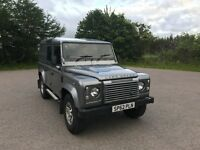 Landrover Defender 110 XS Utility Wagon 2012 51500 miles half leather seats