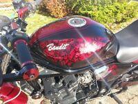 Suzuki Bandit 600 / 2001 Streetfight with new custom paint job