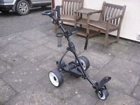 Kolnex GS4 electric golf trolley. This trolley has never been used and is original box.