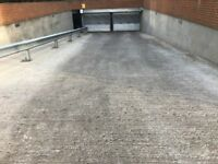 Allocated parking space to rent in a secure underground car park with fob access