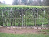 Galvanized Wrought Iron Gates