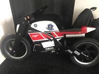 Yamaha wooden balance bike