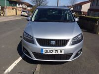 2012 SEAT ALHAMBRA 2.0 TDI SE ECOMOTIVE * * FULL SERVICE HISTORY * * 1 OWNER FROM NEW