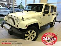 2013 Jeep WRANGLER UNLIMITED Sahara CUIR 2 TOIT NAVIGATION