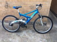 Mens Barracuda Dual Suspension Mountain bike in Good Condition