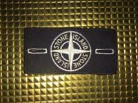 Stone Island White Badge Patch Limited Edition