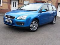 \\\ 2006 FORD FOCUS GHIA ESTATE TDCI . 2 MTHS WARRANTY. NEW MOT . FUL SERV. HIST