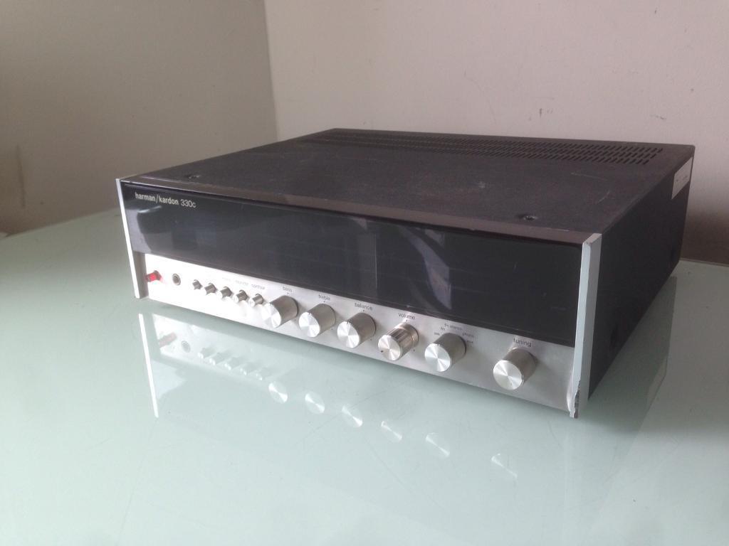 Harman Kardon 330C Vintage Stereo Receiver Amplifier | in Stratford, London  | Gumtree