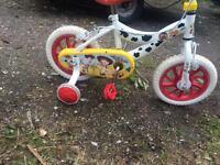 Kids toy story bike