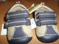 NEW Leather Baby Shoes (M&S) - Size 1